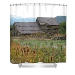 Old Farmhouse Shower Curtain