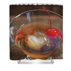 Shower Curtain featuring the photograph Old Fashioned Cocktail by Edward Fielding