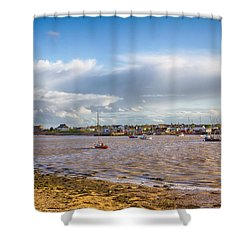 Old Felixstowe 8x10 Shower Curtain