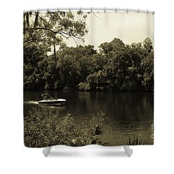 Old Florida Shower Curtain
