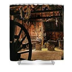 Old Forge Shower Curtain