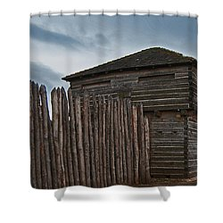 Old Fort Madison Shower Curtain