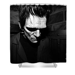 Old Frankie Shower Curtain by David Lee Thompson
