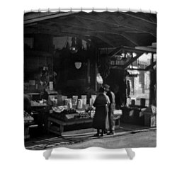 Old French Market Shower Curtain