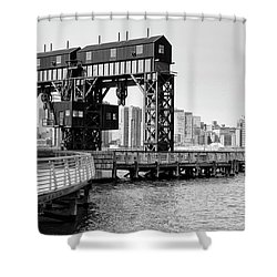 Old Gantry Shower Curtain
