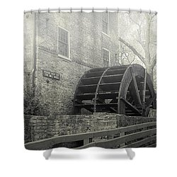 Old Graue Mill Shower Curtain by Julie Palencia