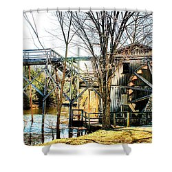 Old Gristmill Shower Curtain