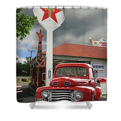 Shower Curtain featuring the photograph Old Guys Rule by Lori Deiter