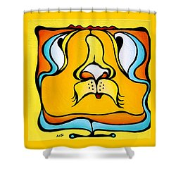 Old Guyser Shower Curtain
