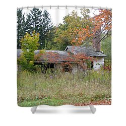 Shower Curtain featuring the photograph Old Homestead 3  by Michael Krek
