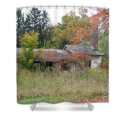 Old Homestead 3  Shower Curtain by Michael Krek