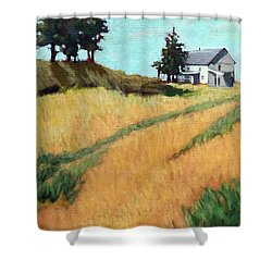 Old House On The Hill Shower Curtain