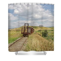 Jezre'el Valley Old Railway Station Shower Curtain