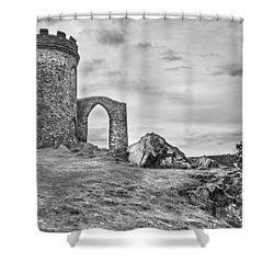 Old John Folly Shower Curtain
