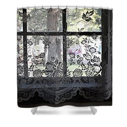 Old Lace And Old Times Shower Curtain