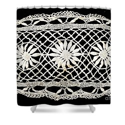 Old Lace Shower Curtain
