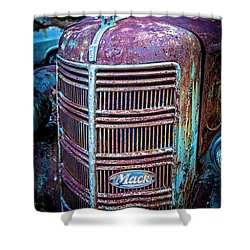Old Mack Grille Shower Curtain