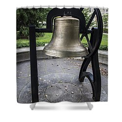 Old Main Bell  Shower Curtain by John McGraw