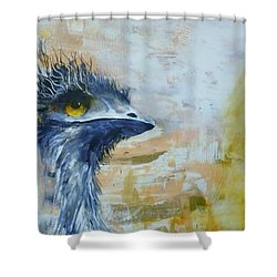 Old Man Emu Shower Curtain