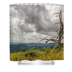 Old Man On The Mountian Shower Curtain