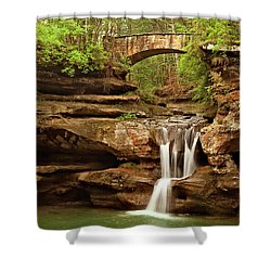 Old Mans Cave Shower Curtain