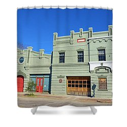 Old Market And Fire House Shower Curtain