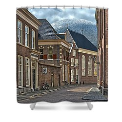 Old Meets New In Zwolle Shower Curtain