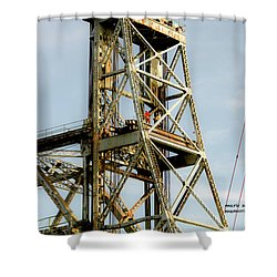 Old Memorial Bridge Shower Curtain