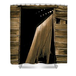 Old Mill Door Shower Curtain
