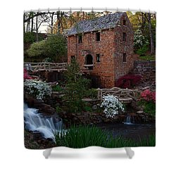 Old Mill Shower Curtain by Renee Hardison