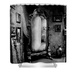 Shower Curtain featuring the photograph Old Mirror by Andrey  Godyaykin