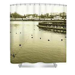 Old Munich Shower Curtain
