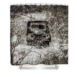 Old N Forgotten Shower Curtain