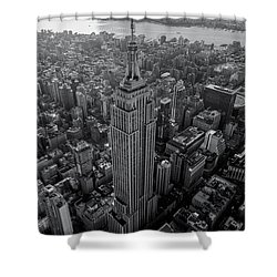 Old New New York  Shower Curtain