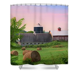 Shower Curtain featuring the photograph Old New York by Bill Wakeley