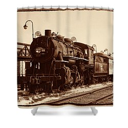 Old Number 519 Shower Curtain by Paul W Faust -  Impressions of Light
