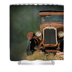 Old Oldsmobile Shower Curtain