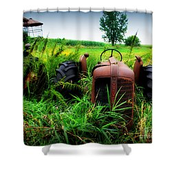 Old Oliver Shower Curtain by Perry Webster