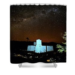 Old Owen Springs Homestead Shower Curtain