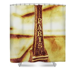 Old Paris Decor Shower Curtain by Jorgo Photography - Wall Art Gallery