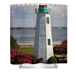 Old Point Comfort Light Shower Curtain