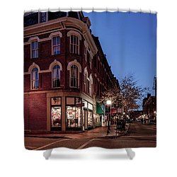 Old Port, Portland Maine Shower Curtain
