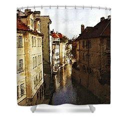 Old Prague Shower Curtain by Jo-Anne Gazo-McKim