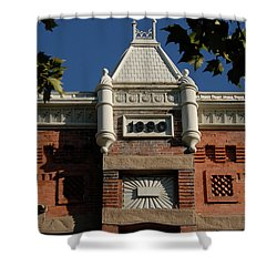 Old Provo  Shower Curtain by David Lee Thompson