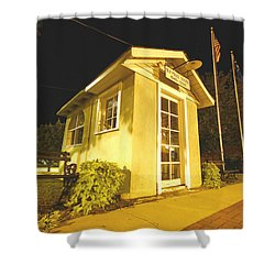 Old Ridgeway Police Station Shower Curtain