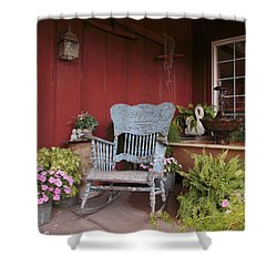 Old Rockin' Chair Shower Curtain