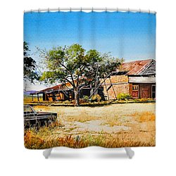 Old Route 66 Shower Curtain