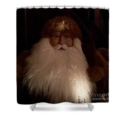 Old Saint Nick Shower Curtain