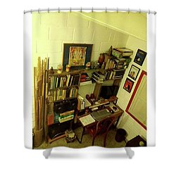 Old School  From Tempo By David Shower Curtain