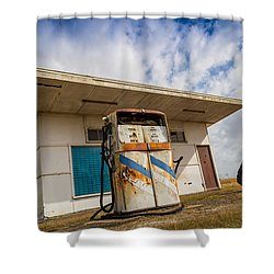 Old Servo Shower Curtain